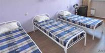 Кровати двухъярусные, односпальные на металлокаркасе для хостелов, гостиниц, рабочих | фото 6 из 6