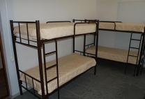 Кровати двухъярусные, односпальные на металлокаркасе для хостелов, гостиниц, рабочих   фото 5 из 6