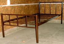 Кровати двухъярусные, односпальные на металлокаркасе для хостелов, гостиниц, рабочих   фото 3 из 6
