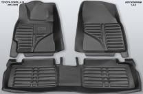 5D коврики в салон Toyota Corolla XI, 2012-2018 | фото 6 из 6