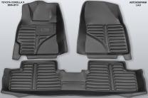 5D коврики в салон Toyota Corolla X, 2006-2013 | фото 6 из 6