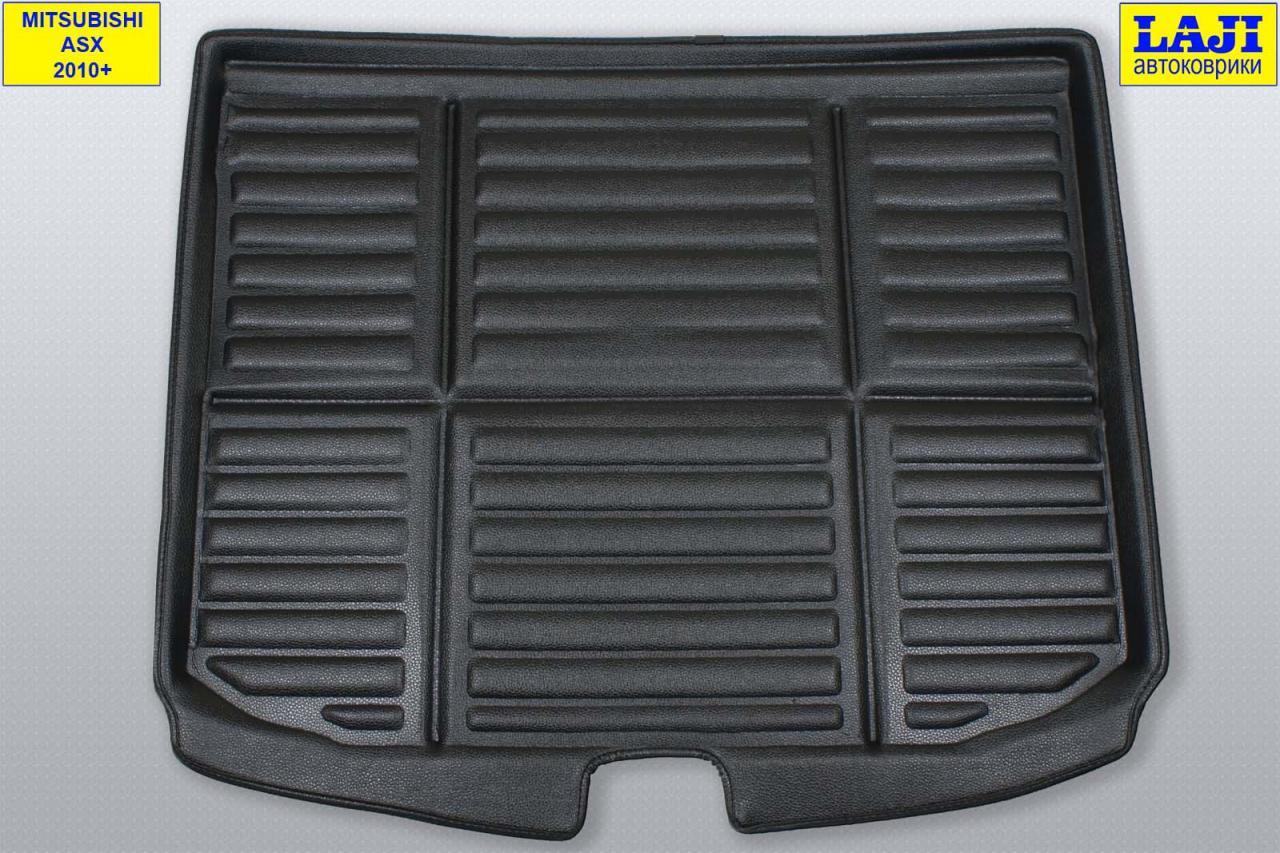 3D коврик в багажник Mitsubishi ASX 2010-   фото 1 из 4