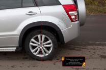 Расширители колесных арок (вынос 25 мм) Suzuki Grand Vitara 2005-2014   фото 4 из 5