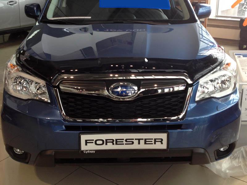 Дефлектор капота для Subaru Forester 2013-2018   фото 1 из 2