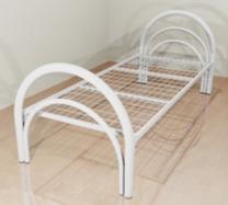 Металлические кровати крупным и мелким оптом, кровати для бытовок   фото 2 из 6