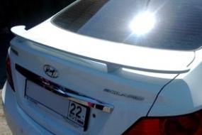 Спойлер на багажник Hyundai Solaris 2010-2016   фото 1 из 3
