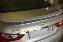 Спойлер на багажник Hyundai Sonata 2010 - 2015