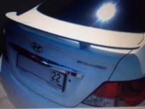 Спойлер на багажник Hyundai Solaris 2010-2016   фото 3 из 3