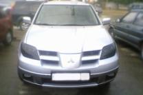 Защита фар для Mitsubishi Outlander 2000-2006