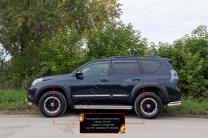 Расширители колесных арок (вынос 30 мм) Toyota LC Prado 150 2009-2013