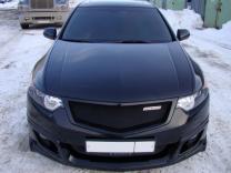 Юбка переднего бампера Honda Accord (VIII) / Acura TSX (CU2) 2008-2010
