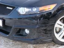 Юбка переднего бампера Honda Accord (VIII) / Acura TSX (CU2) 2008-2010 | фото 4 из 4