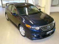 Юбка переднего бампера Honda Accord (VIII) / Acura TSX (CU2) 2008-2010 | фото 2 из 4