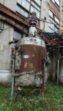 ПродаетсяРеактор нержавеющий, объем — 5 куб.м.,