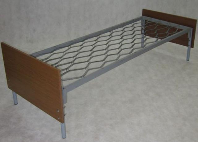 Бюджетные кровати металлические для больниц    фото 1 из 6