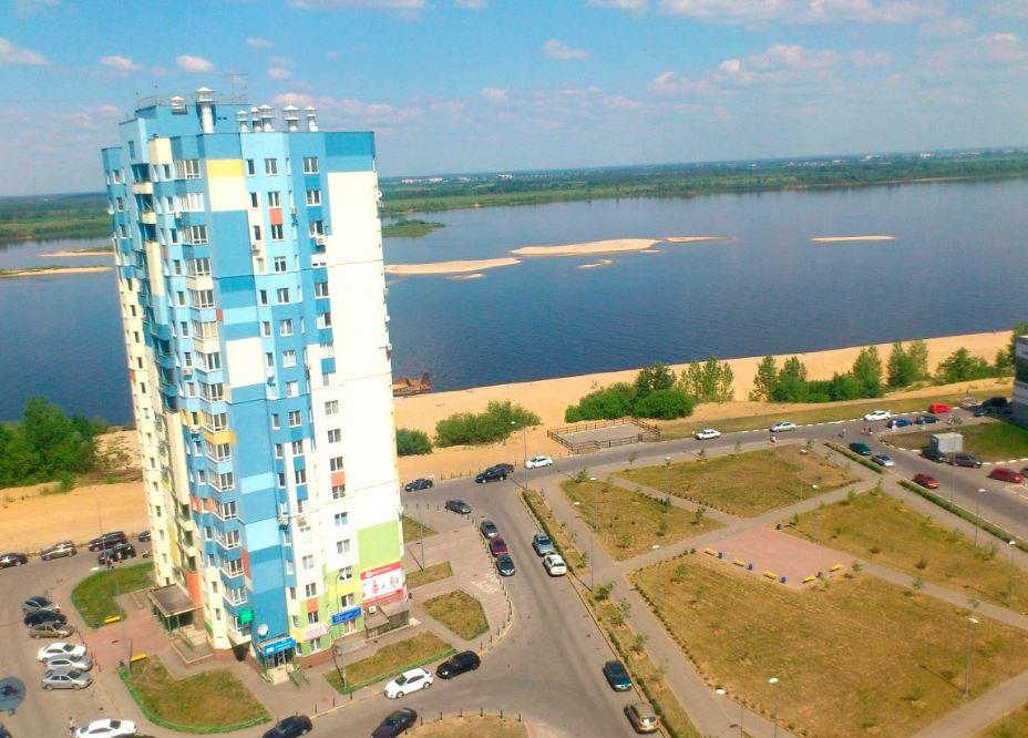 1-комнатная квартира ул. Волжская набережная, ЖК Седьмое небо,   фото 1 из 6