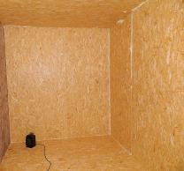 Обшивка гаража вагонкой, установка калитки в ворота   фото 3 из 4