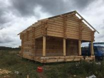 Строительство домов ручной рубки по норвежской технологии в Москве и области  | фото 3 из 4