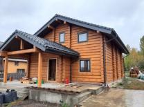 Строительство домов ручной рубки по норвежской технологии в Москве и области