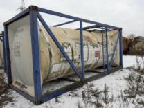 ПродаетсяТанк - контейнера нержавеющий, объем -17,4 куб.м.