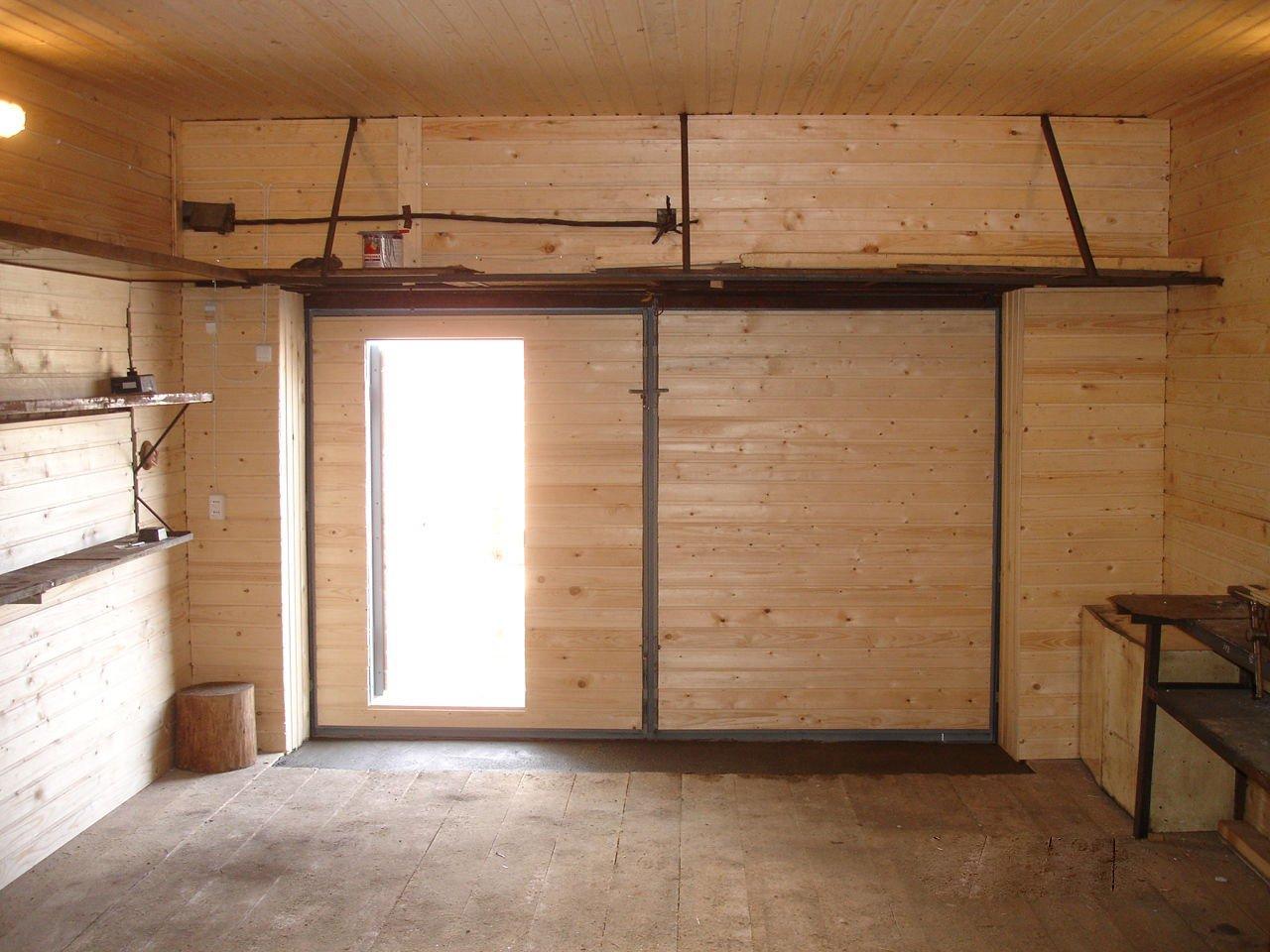 обшивка гаража, ремонт деревянных полов | фото 1 из 3