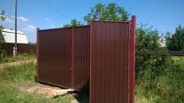 Сварочные работы на даче, ворота, заборы