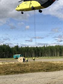 Работы по подцепке грузов