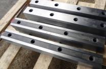 Изготовление промышленных ножей для гильотинных ножниц 570х75х25мм.