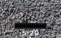 Необходимы долгосрочные автомобильные поставки гравийного щебня фр. 5-20 (М1000)