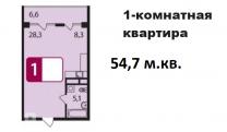 Продаю (бартер, взаимозачет) однокомнатную квартиру в ЖК «Звезда Томилино»