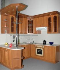 Мебель для кухни под заказ. Компания Рико