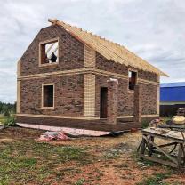 Строительство каркасного дома под ключ   фото 2 из 6