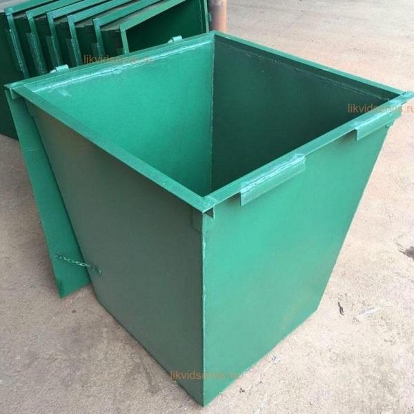 Изготовление мусорного контейнера 0,75 м3 Воронеж | фото 1 из 3