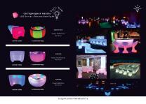 Светодиодная мебель. барную стойку с дистанционным управлением | фото 2 из 4
