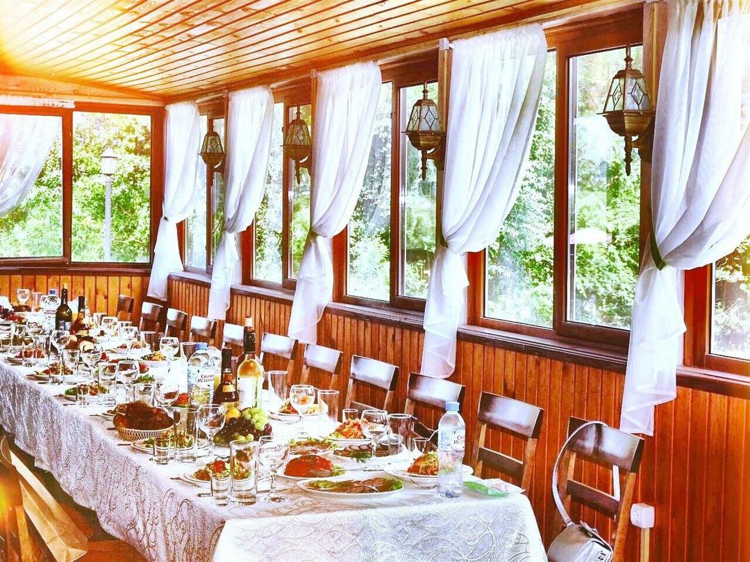 кафе : летняя веранда в Томске, для праздников | фото 1 из 1
