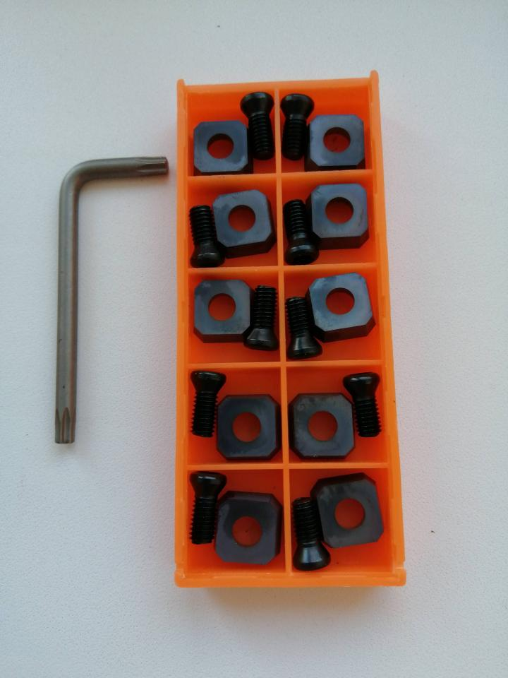 Сменные пластины из твердого сплава для фрез FA118 10Z   фото 1 из 1