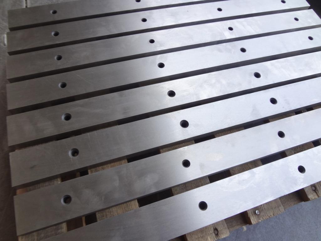 Нож 510х60х20мм комплект 8 штук для гильотин сталь 6хс,6хв2с, х12мф | фото 1 из 1