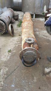 Теплообменники трубчатые, нержавеющие, площадь теплообмена 19,89 кв.м. | фото 1 из 1