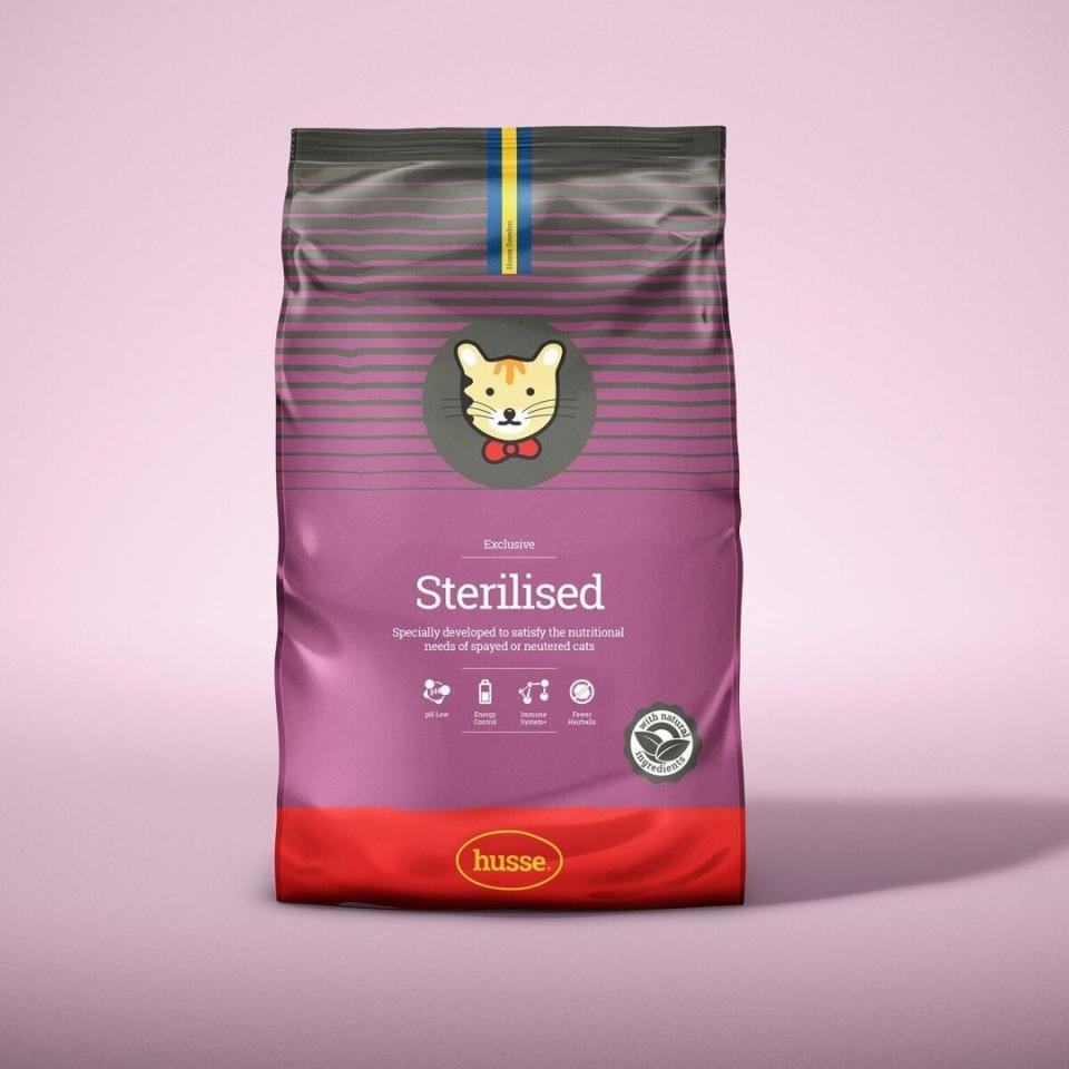 Корм для стерилизованных кошек Husse Sterilised   фото 1 из 4