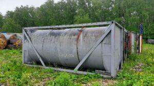 Продается Танк-контейнер, объем -23 куб.м   фото 1 из 1