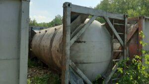 ПродаетсяТанк-контейнер, объем -20 куб. м. | фото 1 из 1