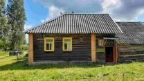 Крепкий симпатичный домик с баней в деревушке, 15 соток земли