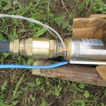 Водоснабжение частного дома от скважины с насосом и кессоном | фото 4 из 6