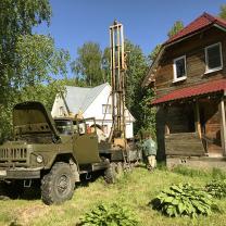 Бурение скважин на воду в Московской области с обустройством