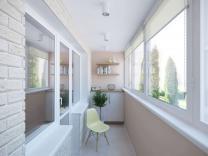 Отделка, остекление и расширение балконов и лоджий, монтаж окон и дверей ПВХ   фото 4 из 6