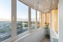 Отделка, остекление и расширение балконов и лоджий, монтаж окон и дверей ПВХ   фото 5 из 6