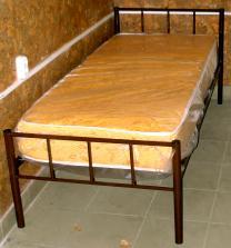 Кровати на металлокаркасе, двухъярусные, односпальные для хостелов, гостиниц, рабочих | фото 4 из 6