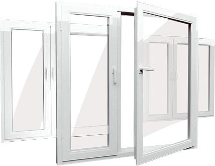 Пластиковые окна (ПВХ) любых форм и размеров в Мытищах | фото 1 из 1