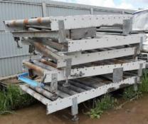 Продается Рольганг с приводом ширина 1,2 м.