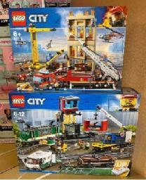 Конструктор LEGO City 60198 грузовой поезд | фото 4 из 4
